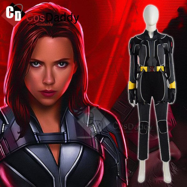 Marvel 2020 Movie Black Widow Outfit Natasha Roman...