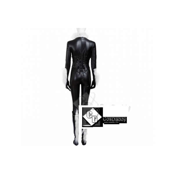 Catwoman Selina Kyle Cosplay black body jumpsuit full set costume