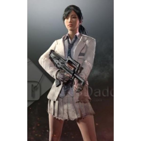 Playerunknown's Battlegrounds School Uniform Costu...
