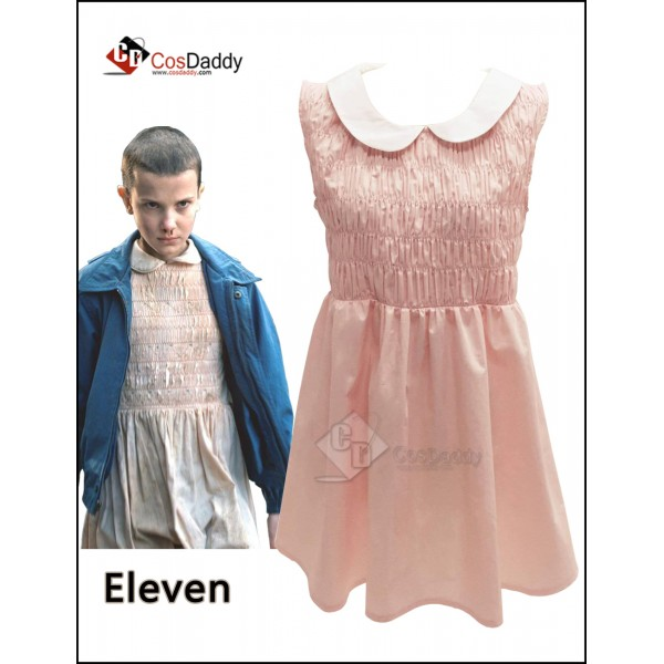 Stranger Things Eleven Dress Costume