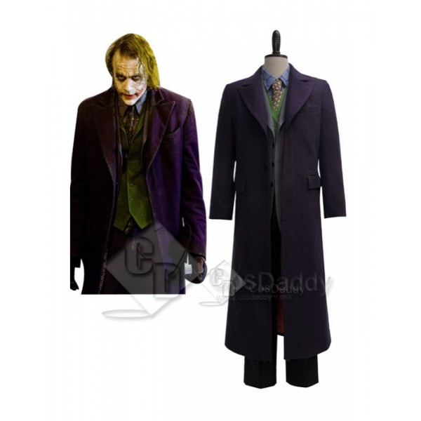 Batman Dark Knight the  Joker Suit Cosplay Costume...