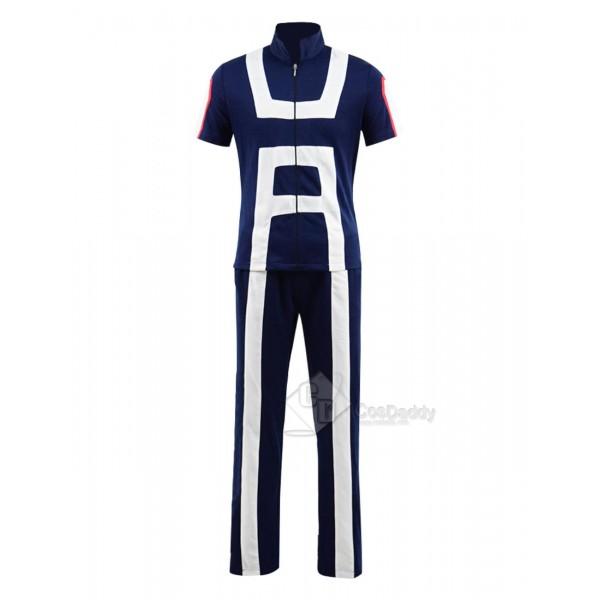 My Hero Academia Izuku Midoriya Training Suit Uniform Cosplay Costume