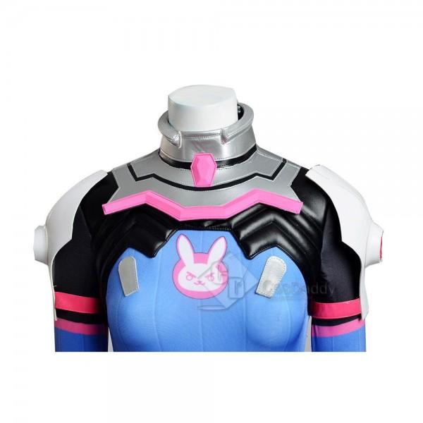Overwatch OW D.Va Jumpsuit Cosplay Costume
