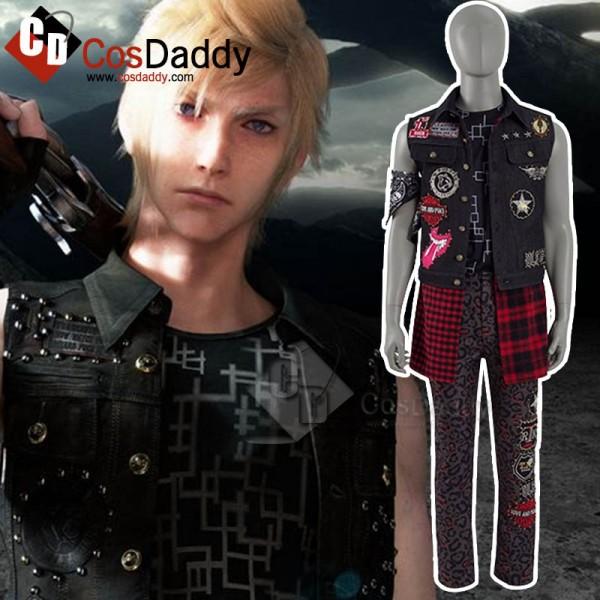 Final Fantasy Prompto Argentum Cosplay Costume