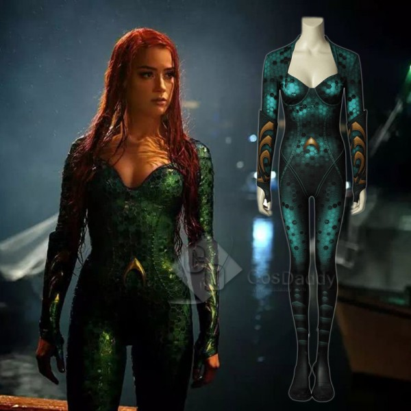 Cosdaddy Aquaman Mera Cosplay Costume