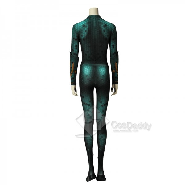 Cosdaddy Aquaman Mera Cosplay Costume