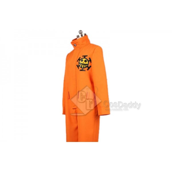 ONE PIECE Trafalgar D Water Law Bepo Cosplay Costume