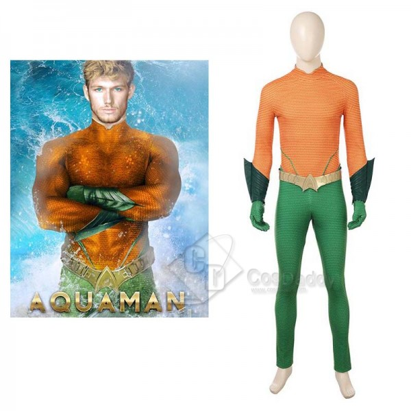 Aquaman Aquaman Arthur Curry Orin Cosplay Costume