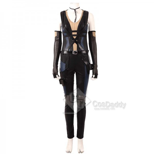 Deadpool 2 Neena Thurman Domino Cosplay Costume