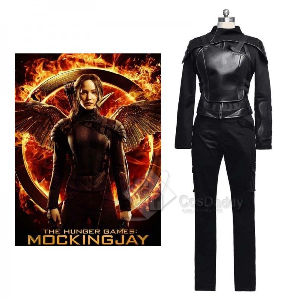 The Hunger Games: Mockingjay – Part 1 Katniss Everdeen Cosplay Costume