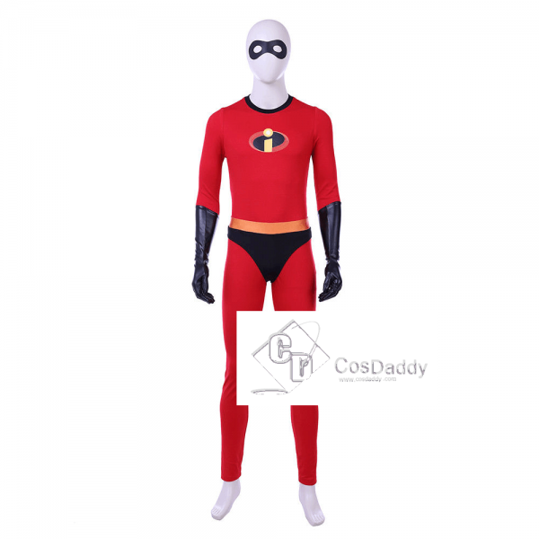 Incredibles 2 Bob Parr Cosplay Costume