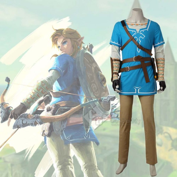 The Legend of Zelda: Breath of the Wild Link Cospl...