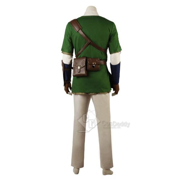 The Legend of Zelda: Twilight Princess Link Cosplay Costume