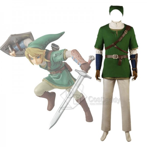The Legend of Zelda: Twilight Princess Link Cospla...