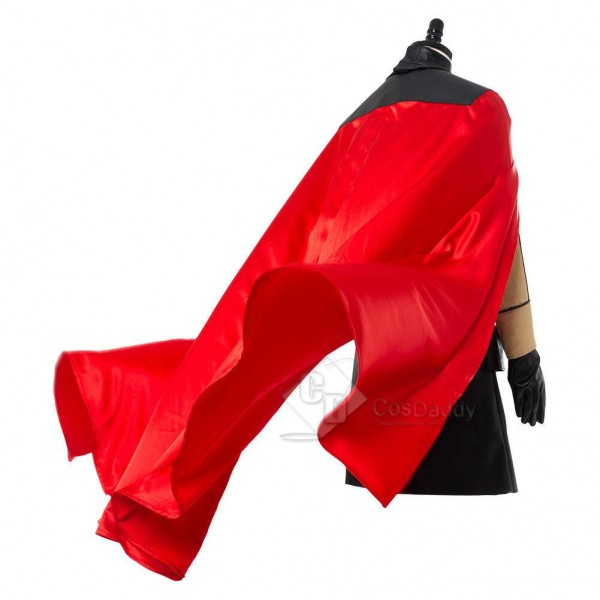 Solo: A Star Wars Story Qira Red Cloak Cosplay Cos...