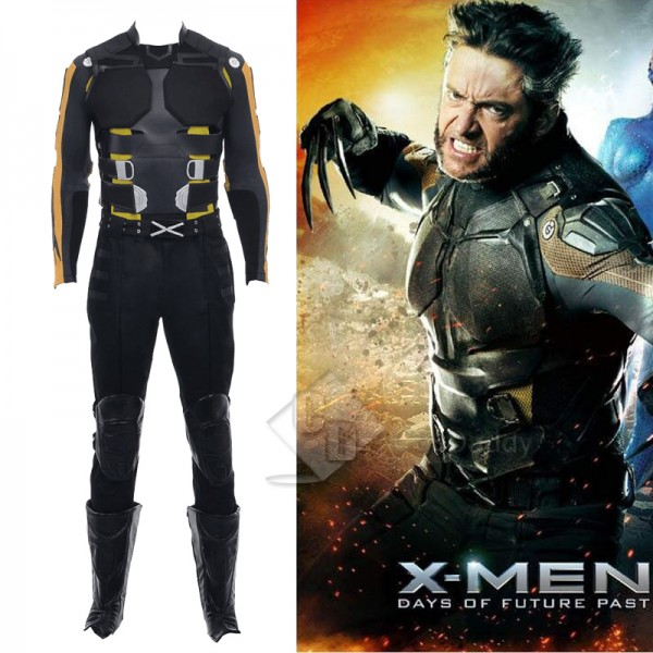 X-Men Wolverine James  Howlett Cosplay Costume