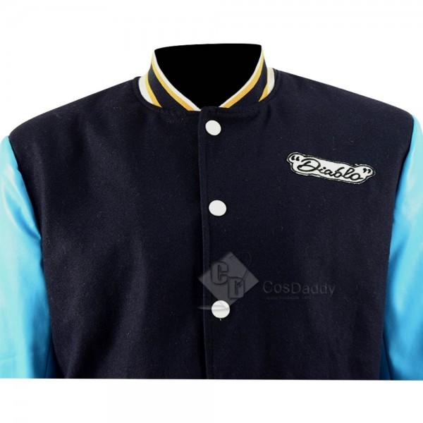 Suicide Squad El Diablo Chato Santana Jacket Cosplay Costume
