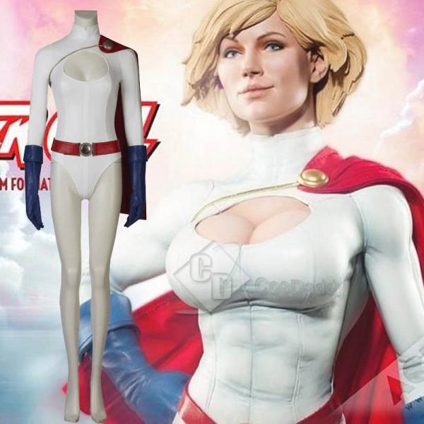 Power Girl Kara Zor-L Cosplay Costume