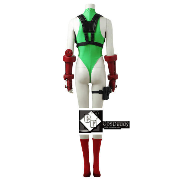 Street Fighter V Cammy White Cosplay Costume