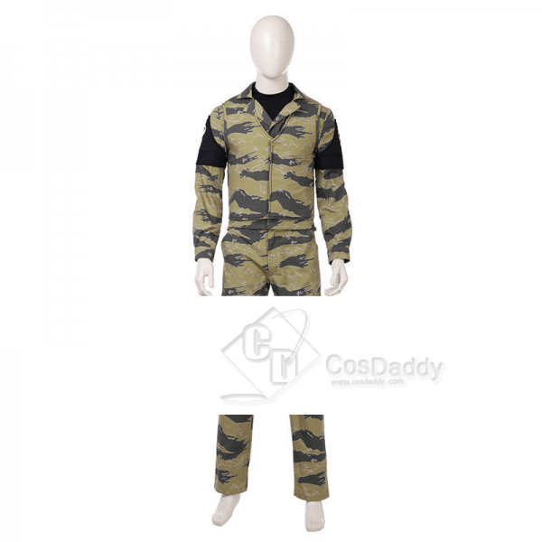 Metal Gear Solid 5 Snake Cosplay Costume