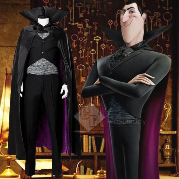 Hotel Transylvania 3 Count Dracula Halloween Cosplay Costume