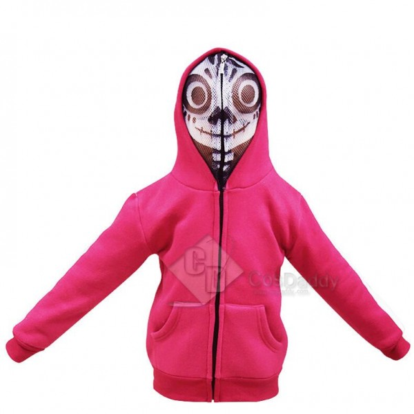 Coco (2017) Coco Miguel  Mask Jacket Cosplay Costume
