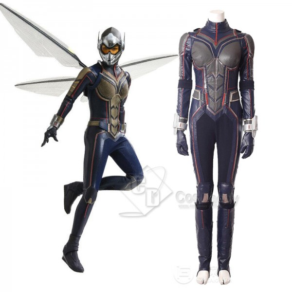 Ant-Man and the Wasp Wasp Hope van Dyne Cosplay Co...