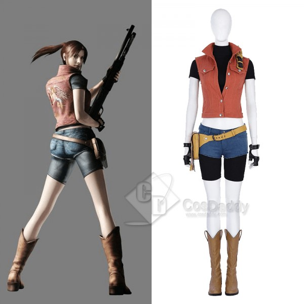 Resident Evil 7:Biohazard Claire Cosplay Costume