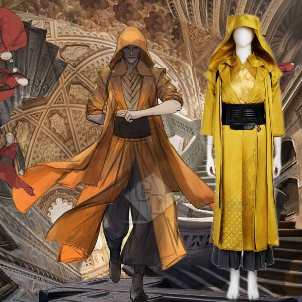 Doctor Strange Ancient One Yao Cosplay Halloween C...
