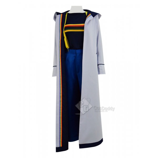 Doctor Who Thirteenth 13th Doctor New Colorful Cosplay Costume(Rainbow Version)