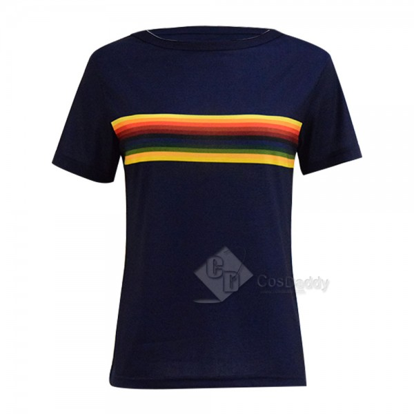Doctor Who Thirteenth 13th Doctor Rainbow T shirt ...