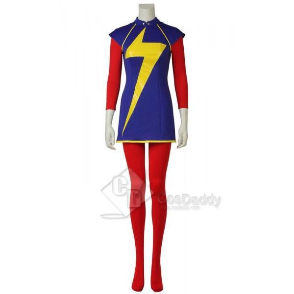 Ms. Marvel Ms. Marvel Kamala Khan Cosplay Costume