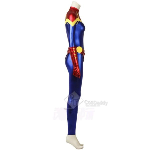 Captain Marvel Ms. Marvel Carol Danvers Cospaly Costume