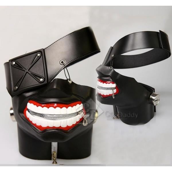 Tokyo Ghoul Ken Kaneki Adjustable Zipper Halloween...