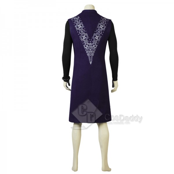 Avengers 3: Infinity War Black Panther T'Challa Cosplay Costume