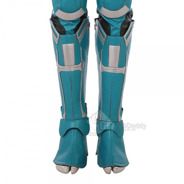 Captain Marvel Ms. Marvel Carol Danvers Jumpsuit Cosplay Costume