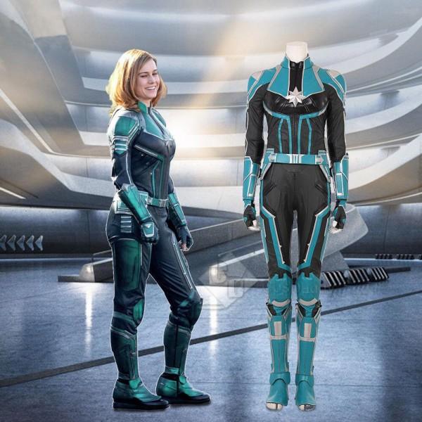 Captain Marvel Ms. Marvel Carol Danvers Jumpsuit C...