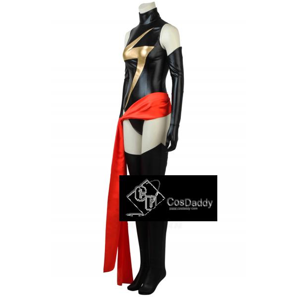 Ms. Marvel Captain Marvel Carol Danvers Cosplay Costume