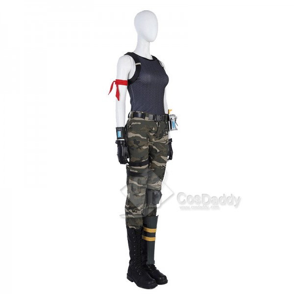 Fortnite Female Special Forces Jungle Version Cosplay Costume