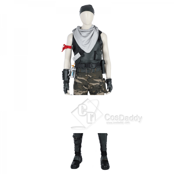 Fortnite Male Special Forces Jungle Version Cosplay Costume