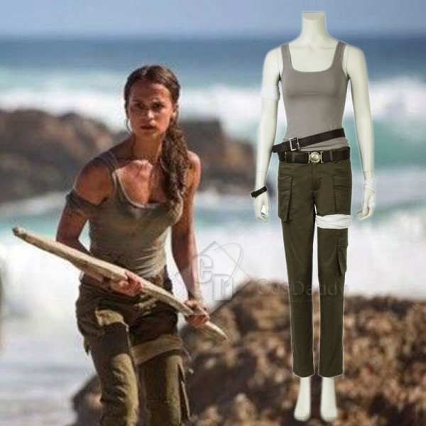 New Tomb Raider Lara Croft Cosplay Costume