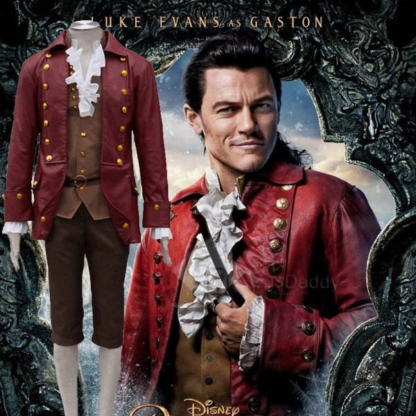 Beauty and the Beast (2017 film) Gaston Cosplay Co...