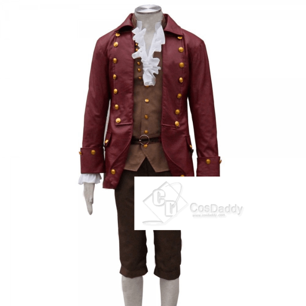 Beauty and the Beast (2017 film) Gaston Cosplay Costume