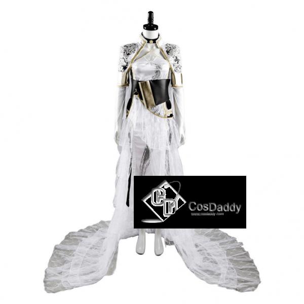 Final Fantasy XV FF15 Lunafreya Nox Fleuret Cosplay Costume