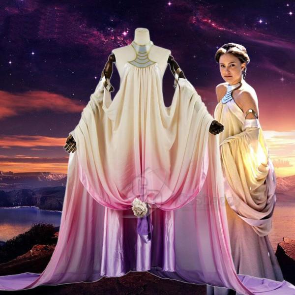 Star Wars Episode III Revenge of the Sith Padme Amidala Cosplay Costume
