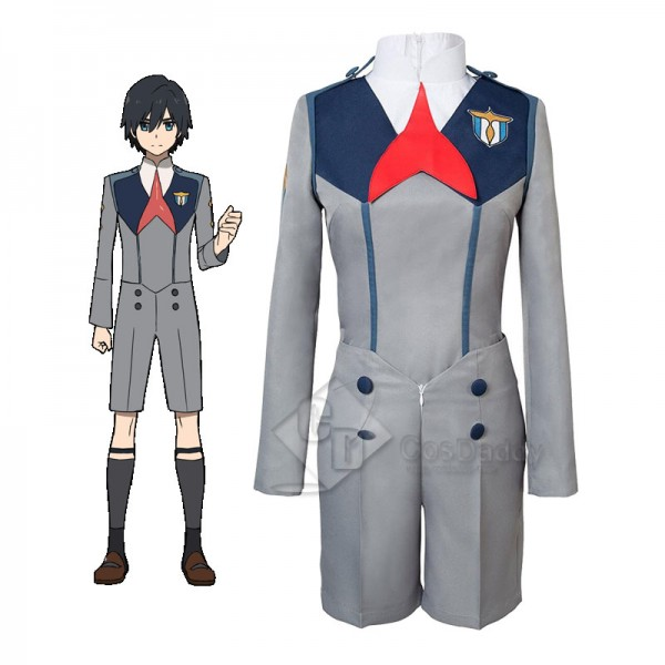Darling in the Franxx HIRO CODE 016 Uniform Cospla...