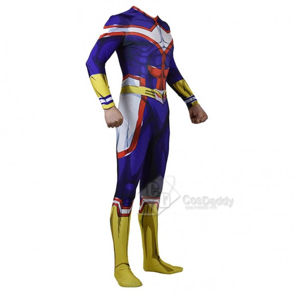 Best My Hero Academia All Might Bodysuit Suit Cosplay Costume