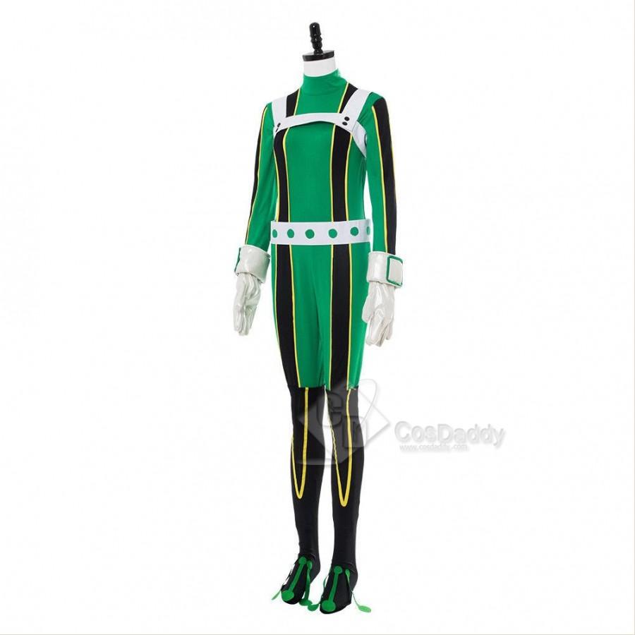 My Hero Academia Academia Tsuyu Asui Cosplay Costume