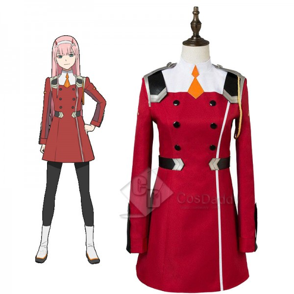 DARLING in the FRANXX ZERO TWO CODE 002 Red Dress ...