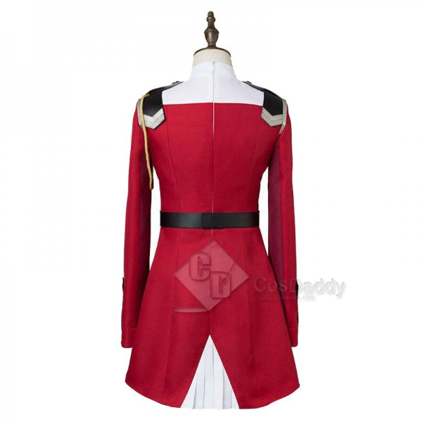 DARLING in the FRANXX ZERO TWO CODE 002 Red Dress Cosplay Costume